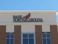 Capital Sign Solutions Bank of North Carolina