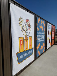 Capital Sign Solutions - PDQ Restaurants