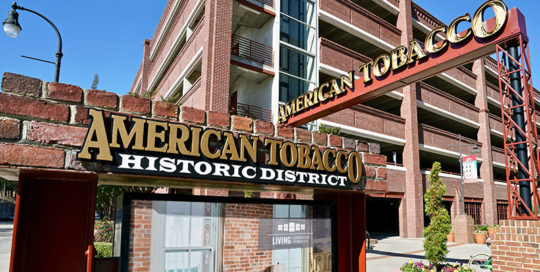 Capital Sign Solutions - American Tobacco Campus Featured