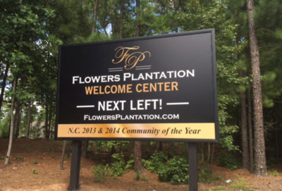 Capital Sign Solutions - Flowers Plantation