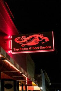 Mother Earth Tap Room & Beer Garden Signage
