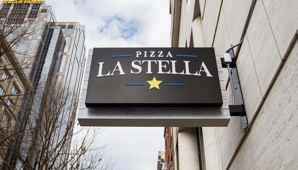 Capital Sign Solutions Pizza La Stella
