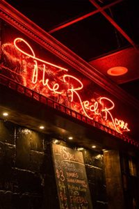 The Red Room Interior Signage