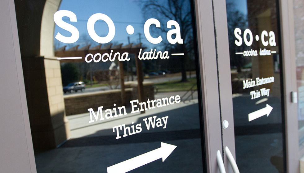 Capital Sign Solutions Soca Door Signage