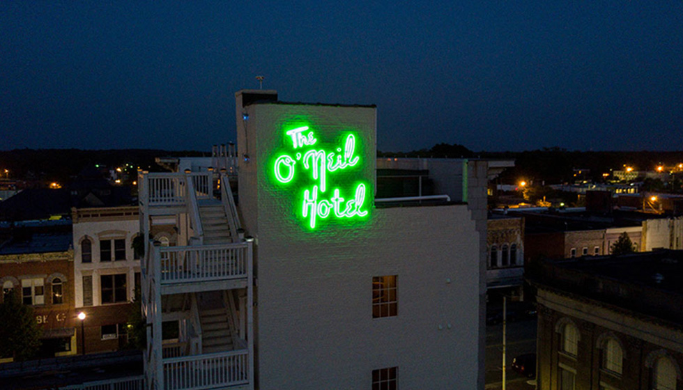 Capital Sign Solutions The O'Neil Hotel