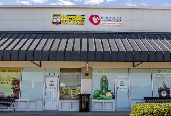 Capital Sign Solutions - Nestle Tollhouse Red Mango Feature