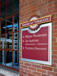 Capital Sign Solutions - American Tobacco 1