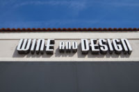 Capital Sign Solutions - Wine and Design Wilmington 7