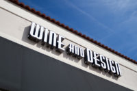 Capital Sign Solutions - Wine and Design Wilmington 8