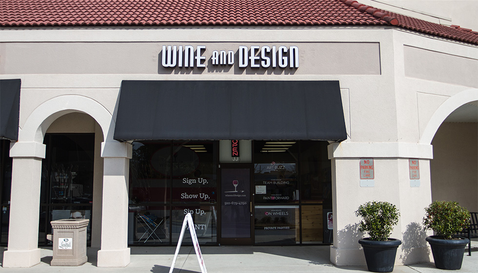Wine & Design Wilmington First Image
