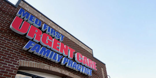 Capital Sign Solutions - Med First Urgent Care - Project Cover Image