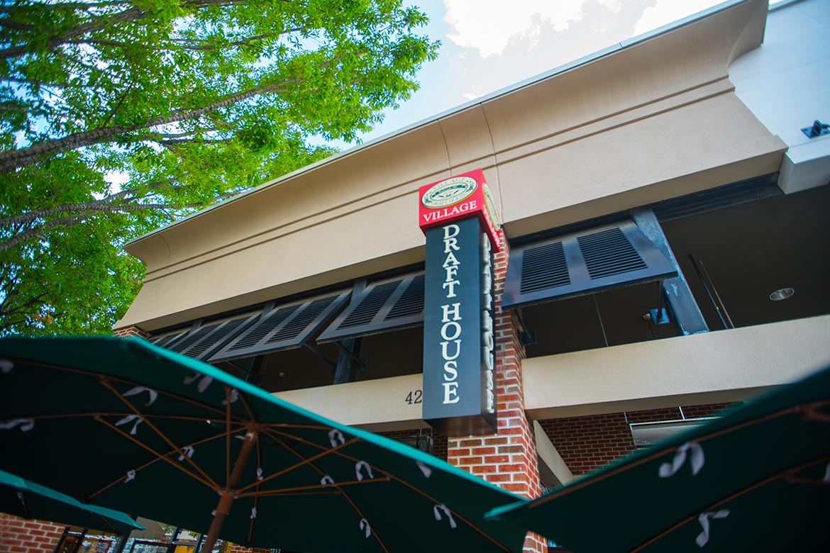 Capital Sign Solutions Retail Restaurant Cameron Village