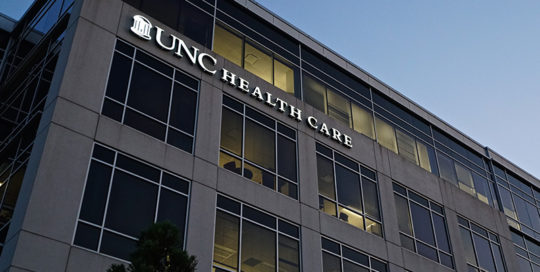 Capital Sign Solutions - UNC Healthcare Featured 2