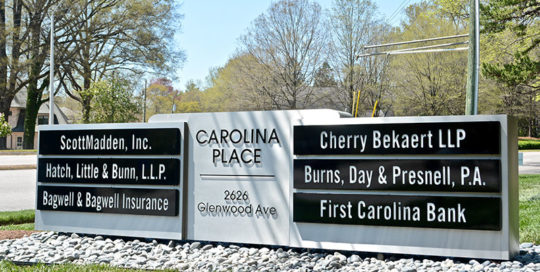 Capital Signs Solutions - Carolina Place