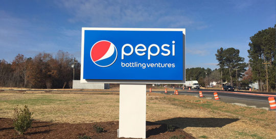 Capital Sign Solutions - Pepsi Bottling Ventures