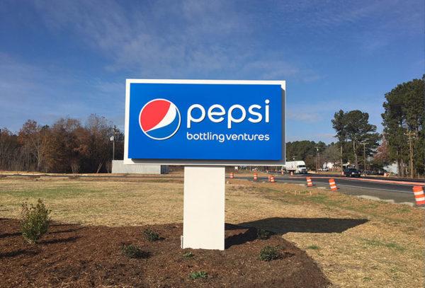 Capital Sign Solutions - Pepsi Bottling Ventures