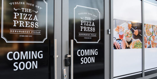 Capital Sign Solutions - Pizza Press