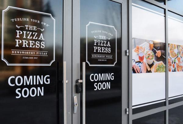 Capital Sign Solutions - Pizza Press