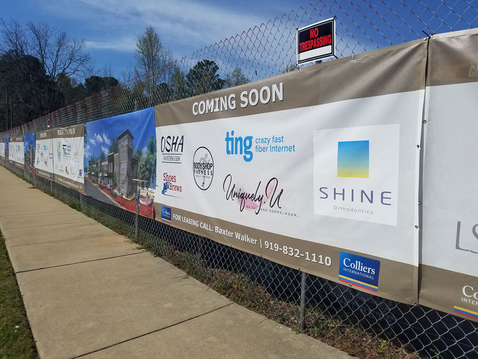 Capital Sign Solutions - Temporary Signage