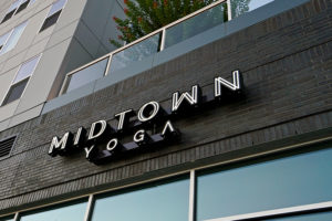 Capital Sign Solutions - Midtown Yoga