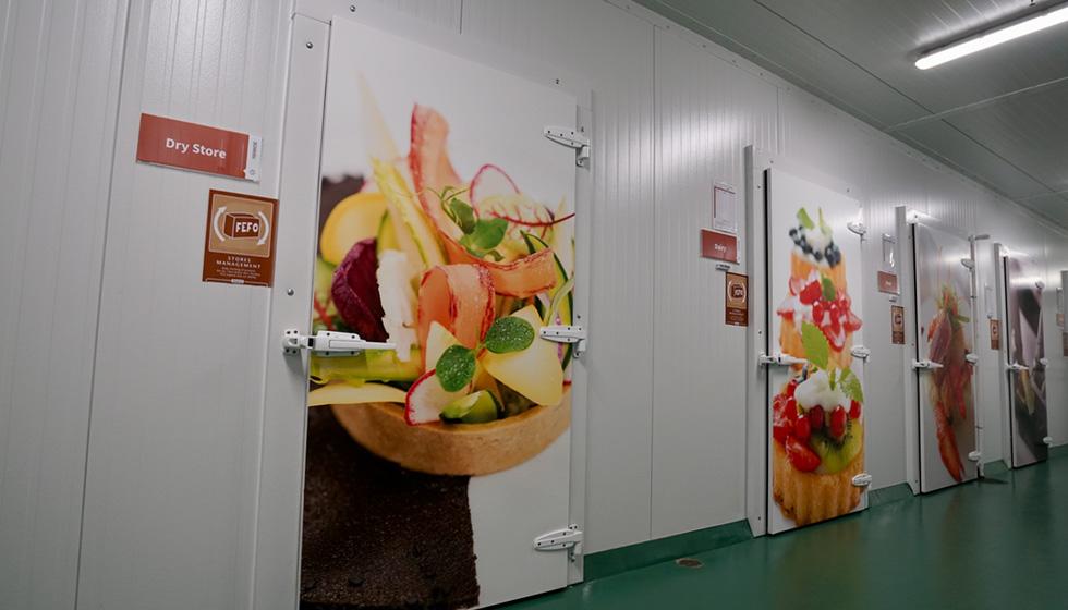 Newrest Group dry store door