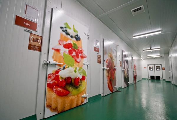 Door imagery for New Restaurant