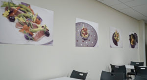 Wall imagery for New Restaurant