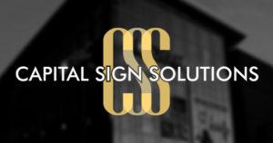 Capital Sign Solutions Social Media Thumbnail