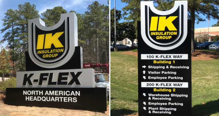 Capital Sign Solutions - K-Flex Testimonial