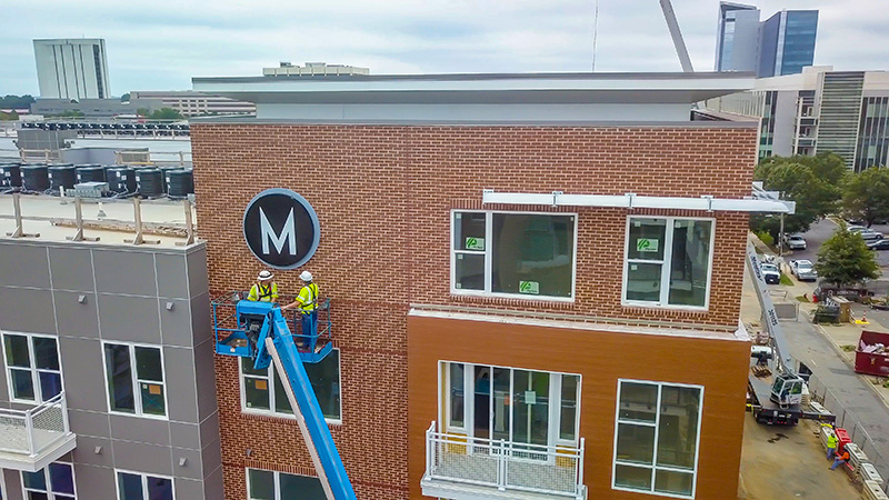 Capital Sign Solutions - Metropolitan Raleigh Install 8