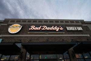 Capital Sign Solutions - Bad Daddy's Burger Bar Channel Letters