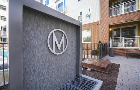 Capital Sign Solutions - Metropolitan Apartments Raleigh