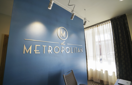 Capital Sign Solutions - Metropolitan Apartments Raleigh