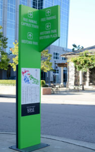 Capital Sign Solutions - North Hills Wayfinding